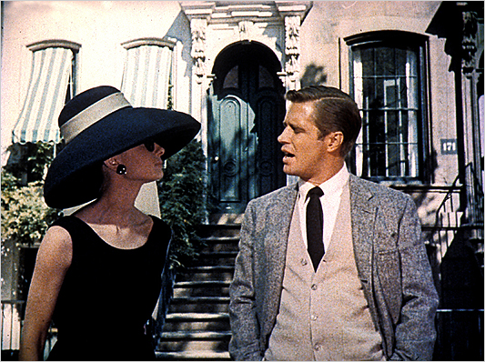 Breakfast at Tiffany's film still