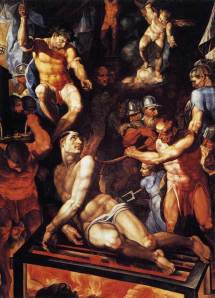 The Martyrdom of St. Lawrence of Rome
